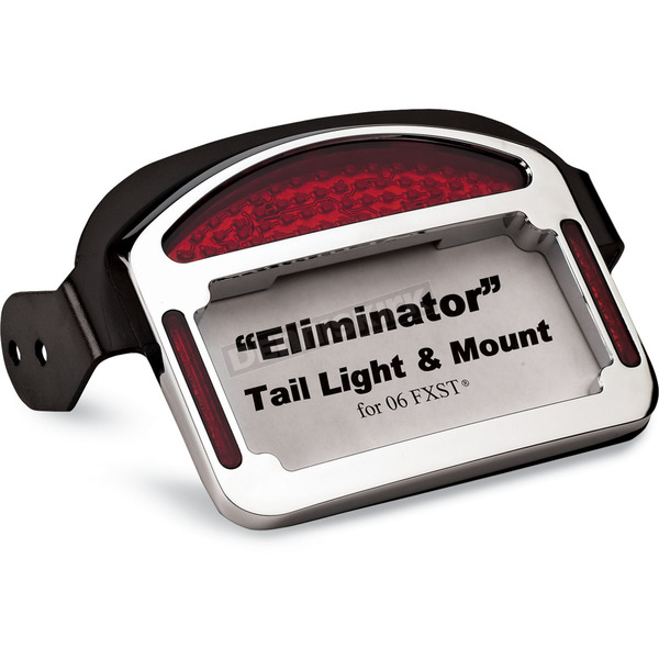 Cycle Visions Eliminator LED Taillight/License Plate Frames - CV-4816