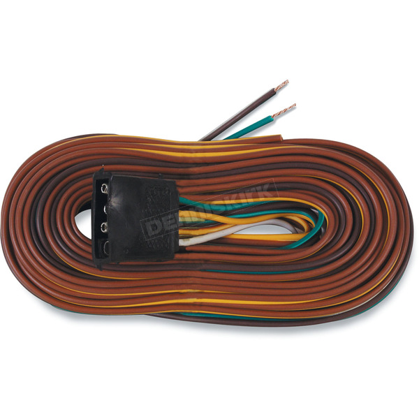 Optronics Inc. 25ft Wishbone 4-Way Trailer Wiring Harness - A25WH