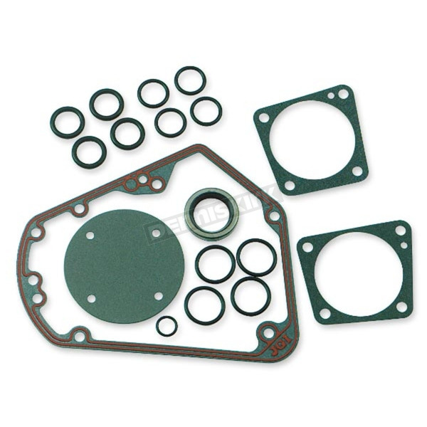 Genuine James Cam Change Gasket/Seal Kit w/Metal Cam Cover Gasket - 25225-93-KX