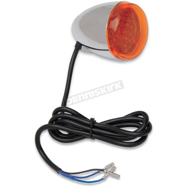 Chris Products LED Amber Bullet Turn Signal - 8500A-LED