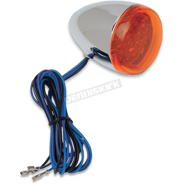 Chris Products LED Amber Bullet Turn Signals - 8501A-LED