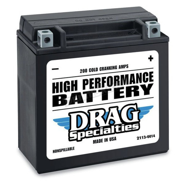 Drag Specialties 12-Volt Battery - 2113-0014