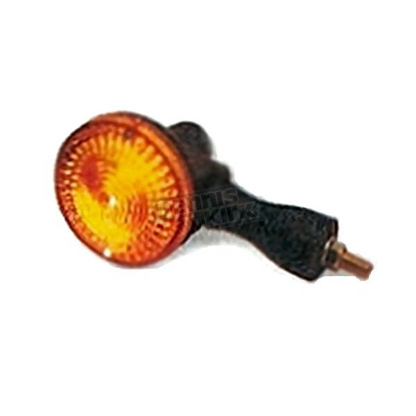 K & S Rear Turn Signal Assembly w/Amber Lens - 25-4016
