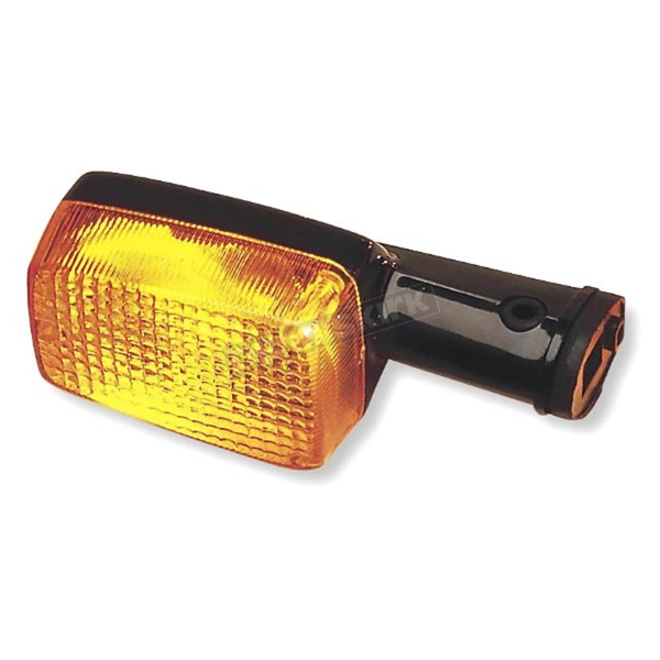 K & S Front Left/Right Turn Signal Assembly W/Amber Lens - 25-1205