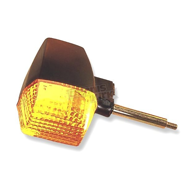 K & S Rear Left/Right Turn Signal Assembly W/Amber Lens - 25-2106