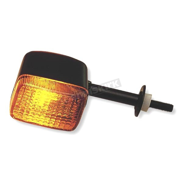 K & S Rear Left/Right Turn Signal Assembly W/Amber Lens - 25-2146
