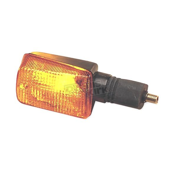 K & S Front Left/Right Turn Signal Assembly W/Amber Lens - 25-3025