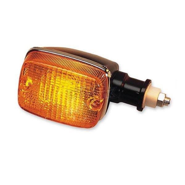 K & S Front Left/Right Turn Signal Assembly W/Amber Lens - 25-3075