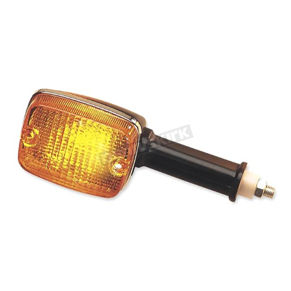 K & S Front Left/Right, Rear Left/Right Turn Signal Assembly W/Amber Lens - 25-3096