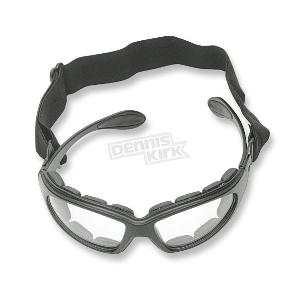 Bobster GXR Sunglasses/Goggles with Clear Lens - GXR001C
