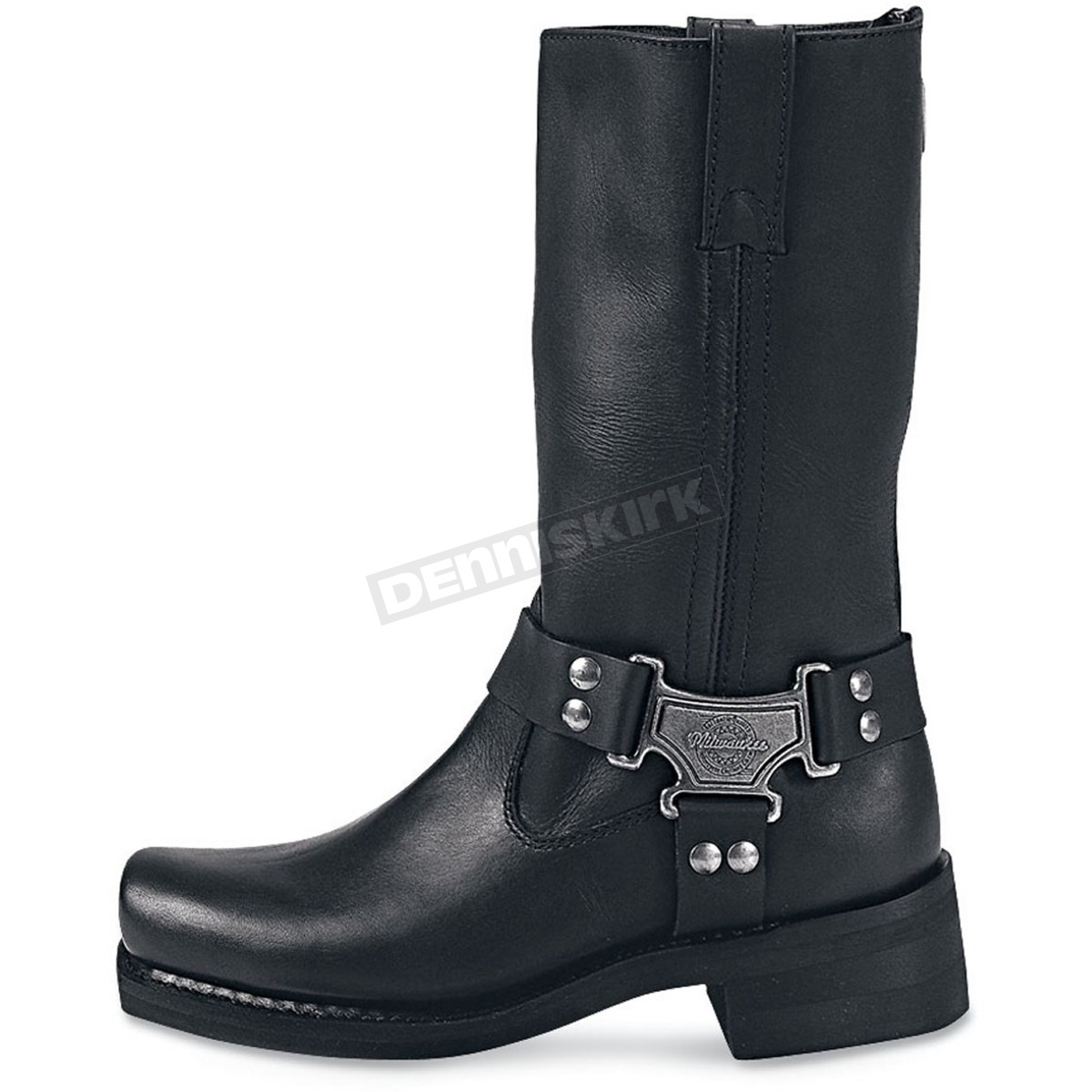 Black, Size 10.5EE Milwaukee Motorcycle Clothing Company Mens Outlaw Motorcycle Boots