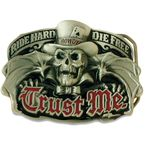 Trust Me Belt Buckle - BBA1051