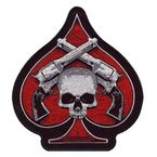4x4 Skull and Pistols Patch - PPA1870