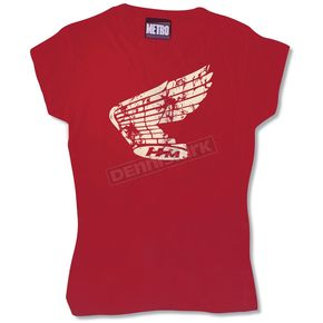 Metro Racing Honda Girly Tee - AUT179