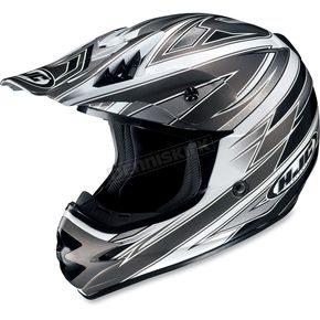 HJC Silver/White AC-X3 Option Helmet - 622-951