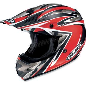HJC Red/Black AC-X3 Agent Helmet - 624-811