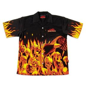 Easyriders Roadware Mens Eagle And Skull Shirt - 7522