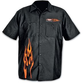 Dennis Kirk Inc. Flame Work Shirt - 3404673M