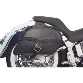 Saddlemen Large Midnight Express Drifter Slant Throw-Over Saddlebags - X02-02-051