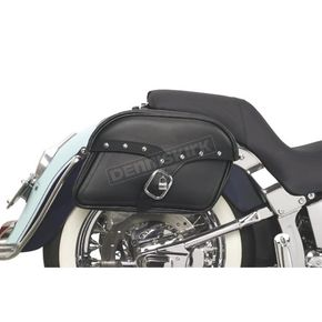 Saddlemen Large Midnight Express Desperado Slant Throw-Over Saddlebags - X02-03-051