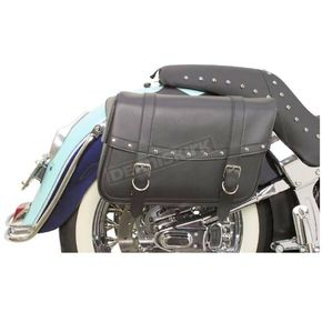 Highwayman Large Slant-Style Saddlebags with Studs - X021-03-041