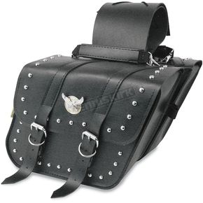 Willie & Max Compact Studded Slant Saddlebags - SB707S05