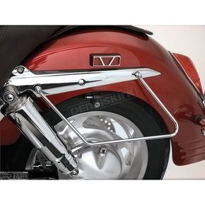 Show Chrome Saddlebag Supports - 55-117