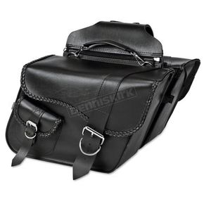 Willie & Max Ranger Braided Super Slant Saddlebags - SB751
