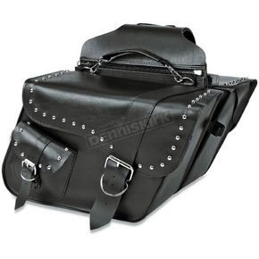 Willie & Max Ranger Studded Super Slant Saddlebags - SB752