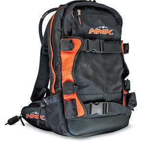 HMK Black/Orange Backcountry Pack  - HMKB