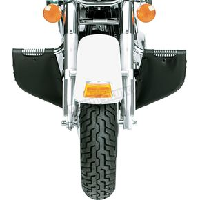 Drag Specialties Lowers for Lindby Custom Highway Bars - Studded - 3550-0009