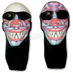 Wicked Wear Clown Cool Weather Half Face Mask - 2510