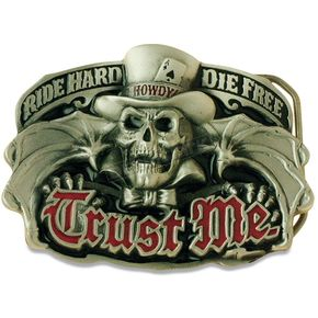 Hot Leathers Trust Me Belt Buckle - BBA1051