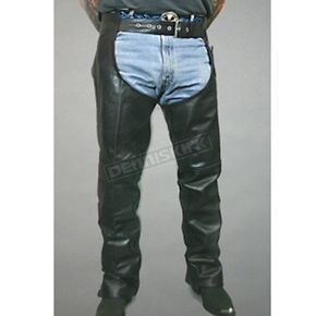 Hot Leathers Unisex Leather Chaps - C700