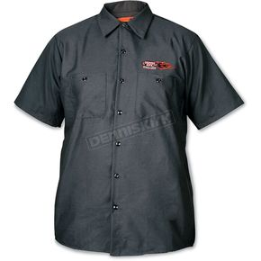 Dennis Kirk Inc. Mens Industrial Work Shirt