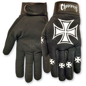 Hot Leathers Choppers Mechanics Gloves  - GVM2001L