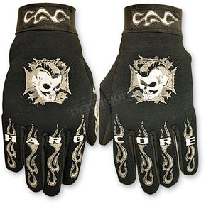 Hot Leathers Hardcore Mohawk Mechanics Gloves  - GVM2003L
