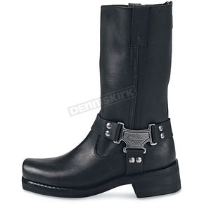 Milwaukee Motorcycle Clothing Co. Mens Classic Harness Leather Boots - EEE Width - MB41060