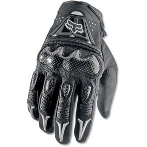 Fox Black Bomber Gloves - 03009-001-2X(12)