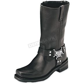 Milwaukee Motorcycle Clothing Co. Womens Classic Harness Leather Boots - MB21015