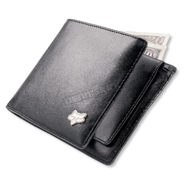 Fox Leather Wallet - 16016-001-NS