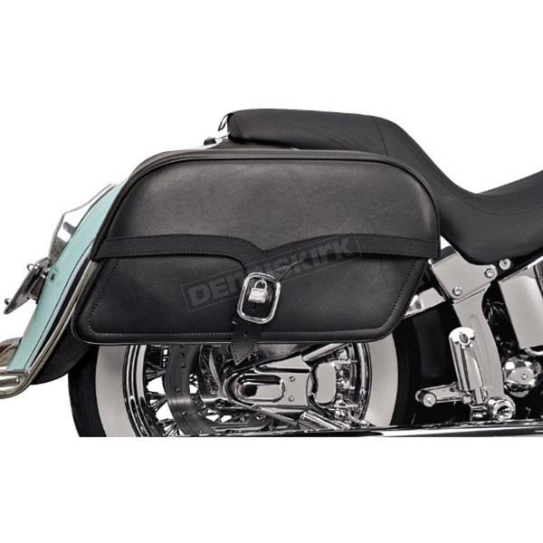 Saddlemen Jumbo Midnight Express Drifter Slant Throw-Over Saddlebags - X02-02-052