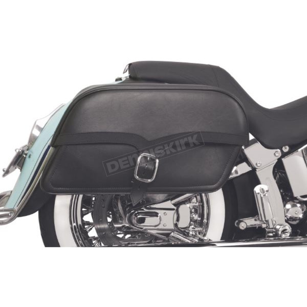 Saddlemen Extra Jumbo Midnight Express Drifter Slant Throw-Over Saddlebags - X02-02-053