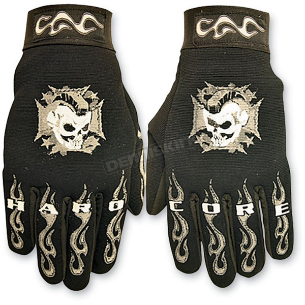 Hot Leathers Hardcore Mohawk Mechanics Gloves  - GVM2003XXL