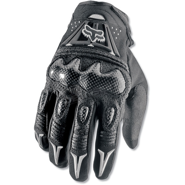 Fox Black Bomber Gloves - 03009-001-3X(13)