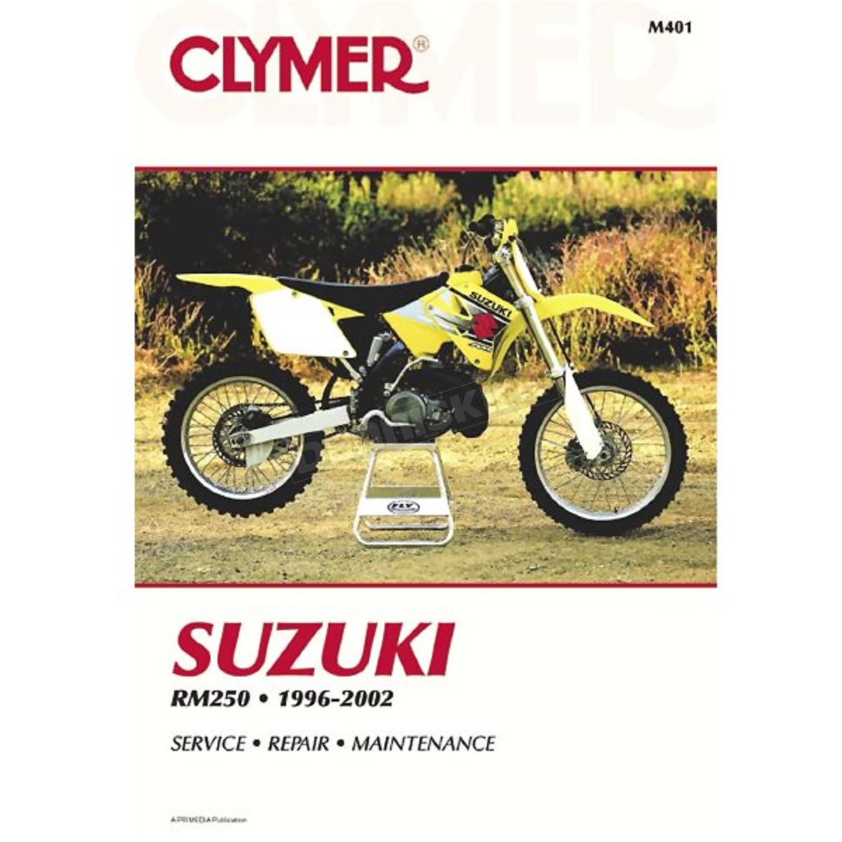 Clymer Suzuki Repair Manual - M401