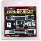 Premium Keyed-Alike Hardened Steel Reciever and Coupler Lock Set - TM32