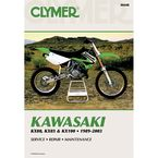 Kawasaki Repair Manual - M448