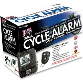 Gorilla Cycle Alarm w/Remote Transmitter - 7007