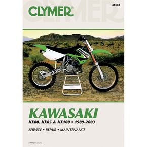 Clymer Kawasaki Repair Manual - M4482